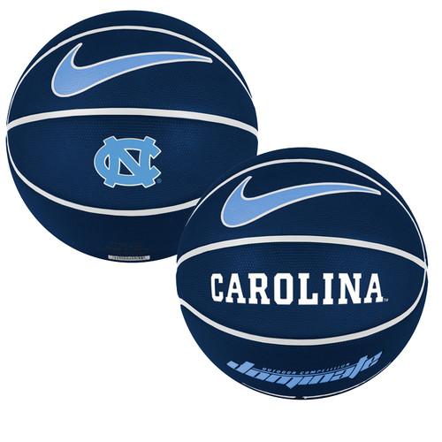 Nike Versa Tack Full Size Rubber Basketball - Navy NC Carolina