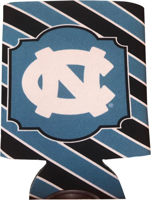 JayMac Diagonal Stripe Coozie with White NC