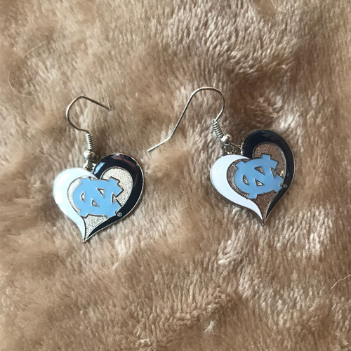 AmincoTear Drop Heart NC Earrings