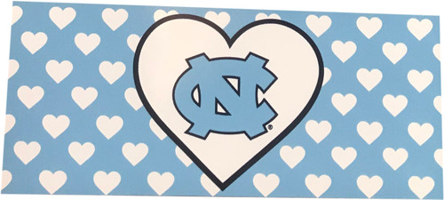 SDS Repeating Hearts Magnet with NC