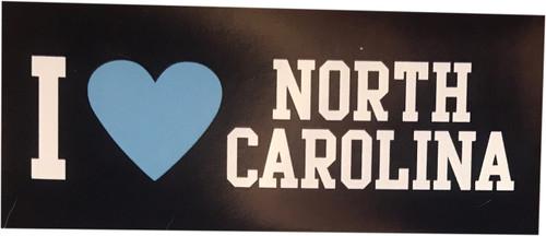 SDS Navy I Heart North Carolina Magnet