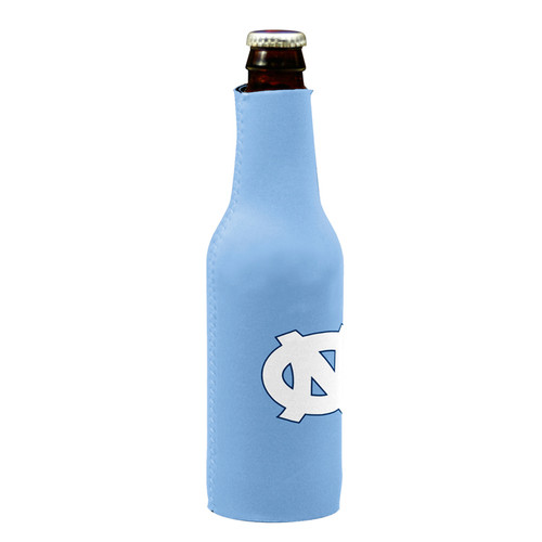 Logo Zippered NC Bottle Coozie