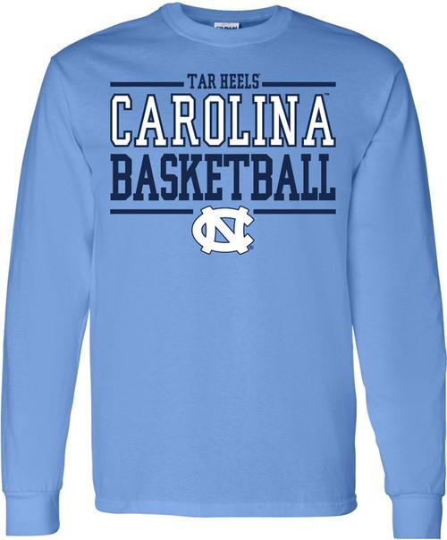 Carolina Sport Between the Lines LONG SLEEVE Tee - Basketball