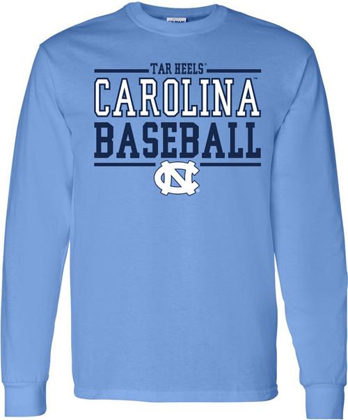 Carolina Sport Between the Lines LONG SLEEVE Tee - Baseball