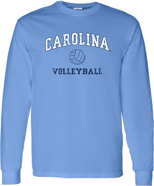 Carolina Faded Sport LONG SLEEVE T-Shirt - VOLLEYBALL