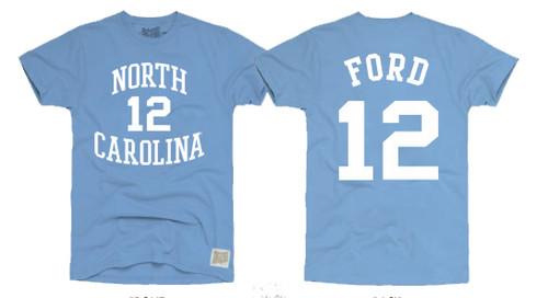 Retrobrand Phil Ford Tee Shirt - Carolina Blue