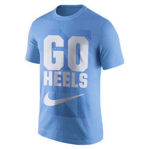 Nike Carolina Legend Franchise Tee - Carolina Blue with Go Heels