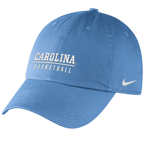 Nike Carolina Sport Series Campus Cap - Carolina Blue with Basketball