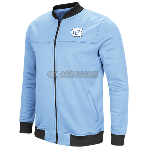 Colosseum Carolina Sack the QB Full Zip Bomber Jacket