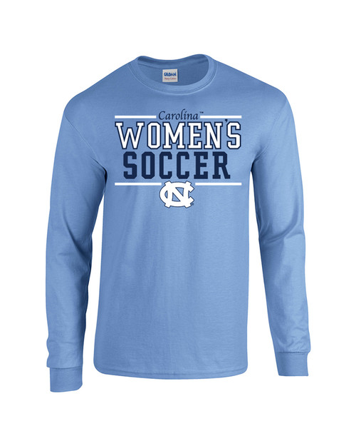 Carolina Sport Between the Lines LONG SLEEVE Tee - Women's Soccer
