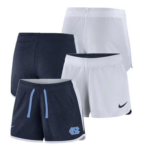 Ladies Nike Reversible Short - Navy and White