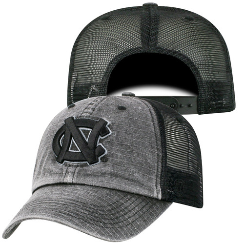 Top of the World Black NC RipStop Trucker