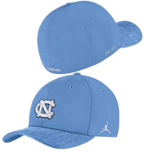 Nike Jordan Flex Fit Carolina Blue Sideline Hat