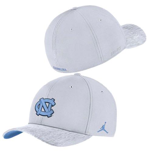 Nike Jordan Flex Fit White Sideline Hat