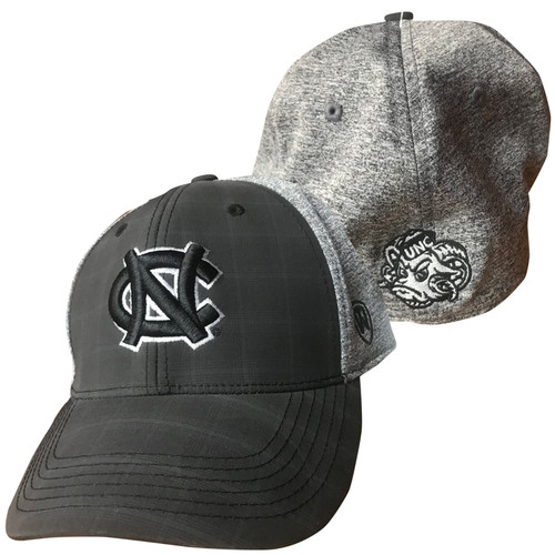Top of the World One Fit Heathered Gray with Black NC