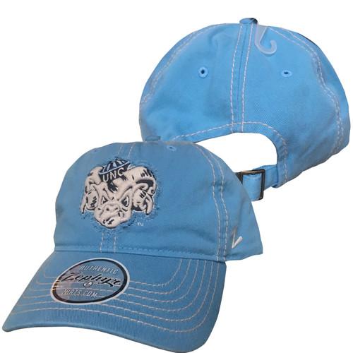 Zephyr Carolina Blue Ram Face Hat