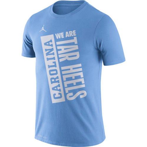 Nike Jumpman Carolina Dry Team JDI We are Tar Heels Tee - Carolina Blue