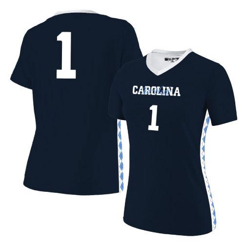 The Victory' Carolina Women's Soccer Jersey - Navy #1
