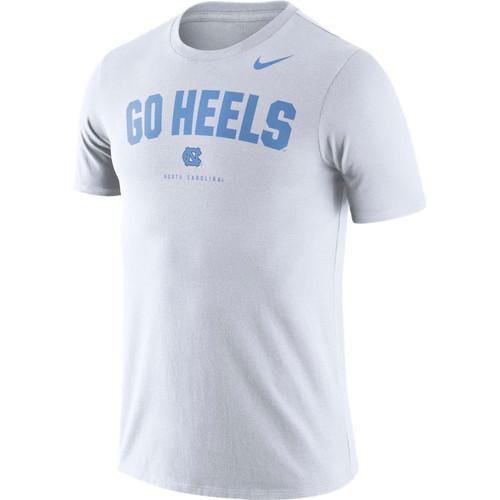 Nike Carolina DRIFIT Phrase Tee - White GO HEELS