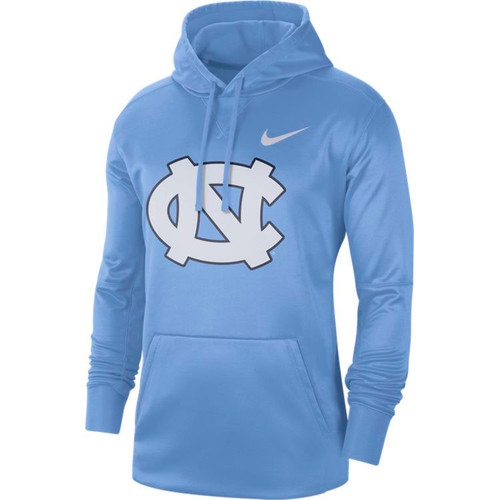 Nike Carolina Performance Logo Essential Hood - Carolina Blue with NC