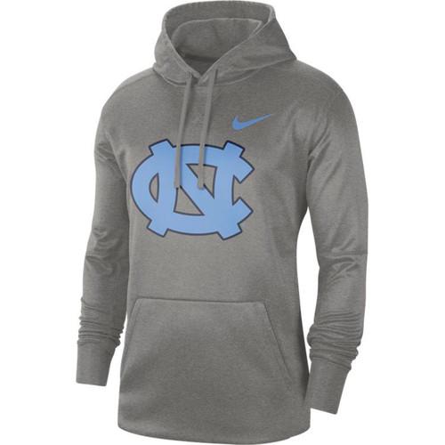 Nike Carolina Performance Logo Essential Hood - Gray Heather with NC