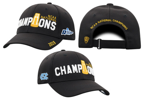 2019 NCAA National Champion Field Hockey Top of the World Locker Room Hat - Black