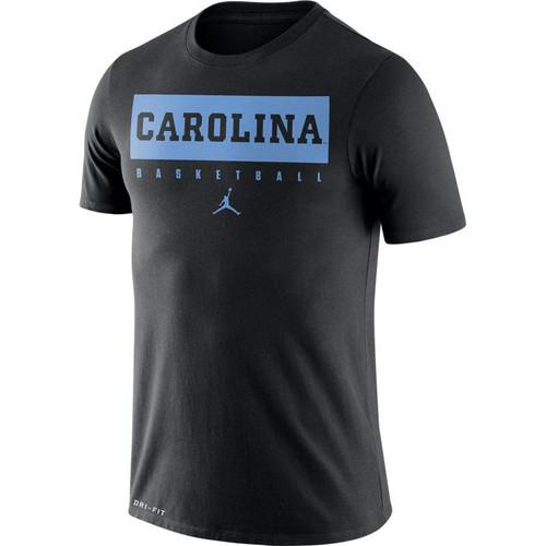 Nike Jordan Carolina DriFIT Basketball Practice Tee - Black
