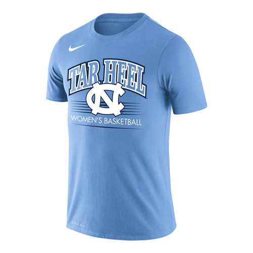 Nike Carolina DriFIT Cotton WOMEN'S BASKETBALL Tee - Carolina Blue