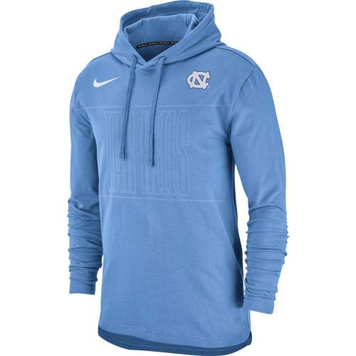 Nike Jersey Club Tonal Tar Heels Hood - Carolina Blue