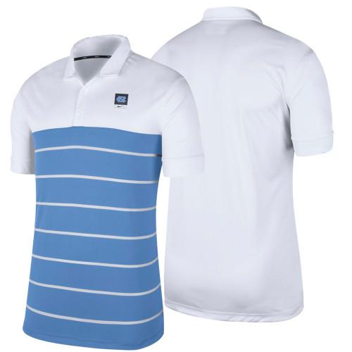 Nike Striped Modern Polo - White