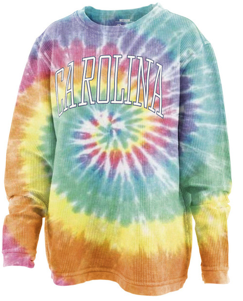 Ladies Pressbox  'Bell Lap' Comfy Cord - Tye Dye