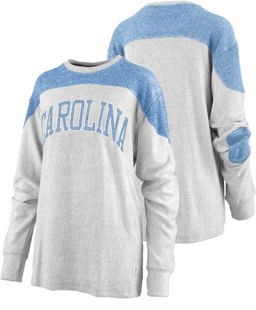 Ladies Pressbox 'Ivy' Long Sleeve Crew Neck Terry - arc Carolina