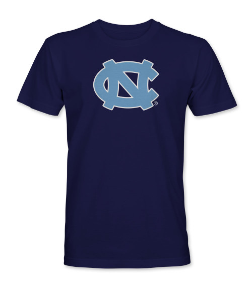 Carolina Big Interlock NC Tee Shirt - Navy