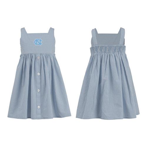 Garb Toddler Woven Gingham  Button Dress - Jillian