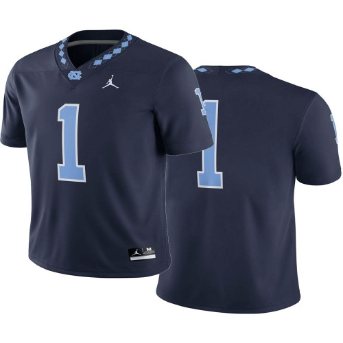 YOUTH Nike Jordan Football Jersey - Navy #1
