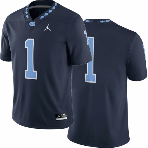 Nike Jordan Football Game Jersey - Navy #1