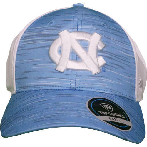Top of the World 'Brush Stroke' NC Hat - Carolina Blue