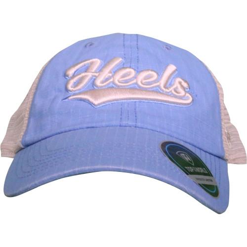 Top of the World Heels Trucker Hat - Carolina Blue