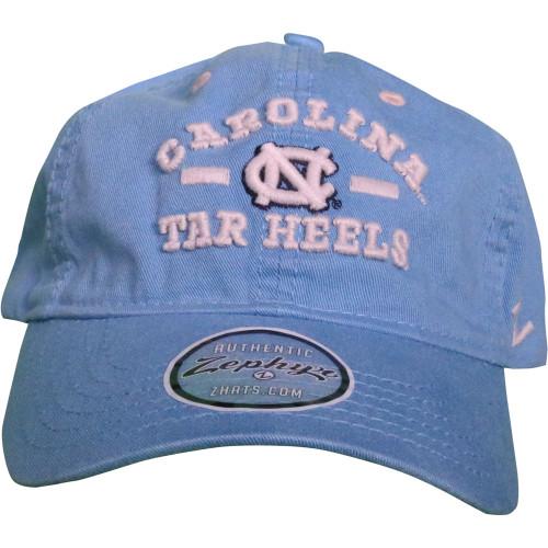 Zephyr 'Frisco' Carolina Tar Heels Hat - Carolina Blue