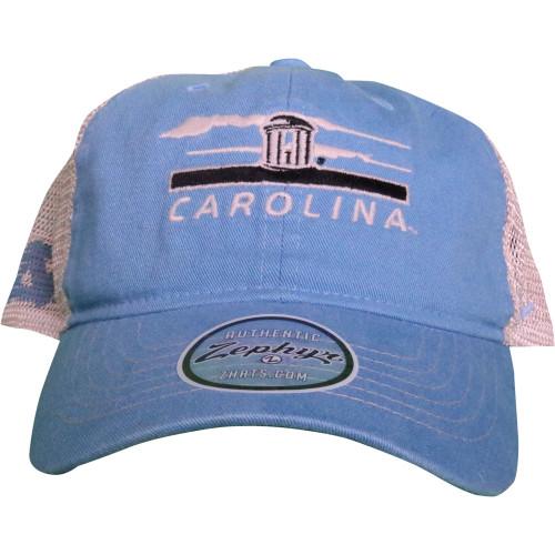 Zephyr 'Knoxville' Old Well Trucker Hat - Carolina Blue