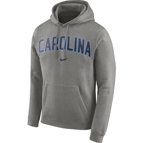 Nike Carolina Club Arch Hood - Gray