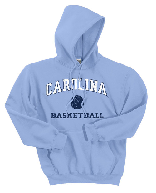 Carolina Faded Sport HOOD - Basketball