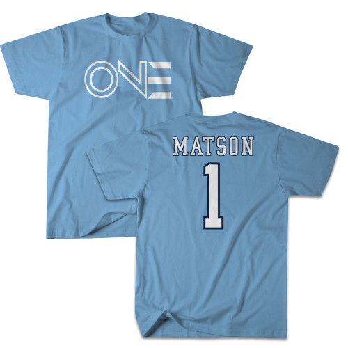 2021 Erin Matson number ONE Tee