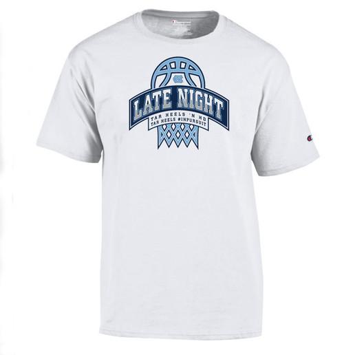 2021 Champion Carolina Late Night Tee Shirt