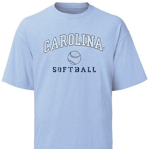 Carolina Faded Sport Tee Shirt - Softball