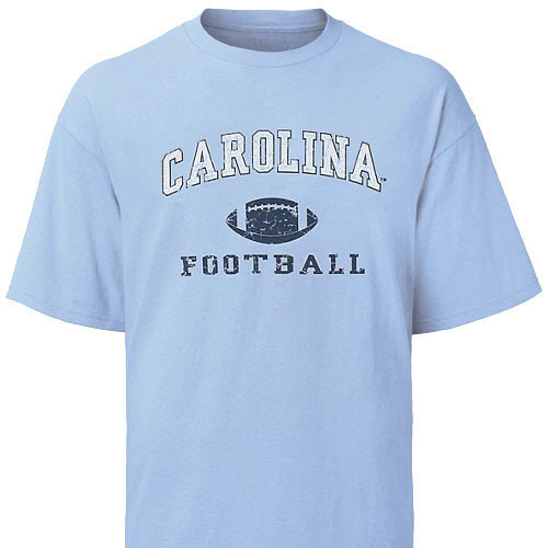 Carolina Faded Sport Tee Shirt - Football