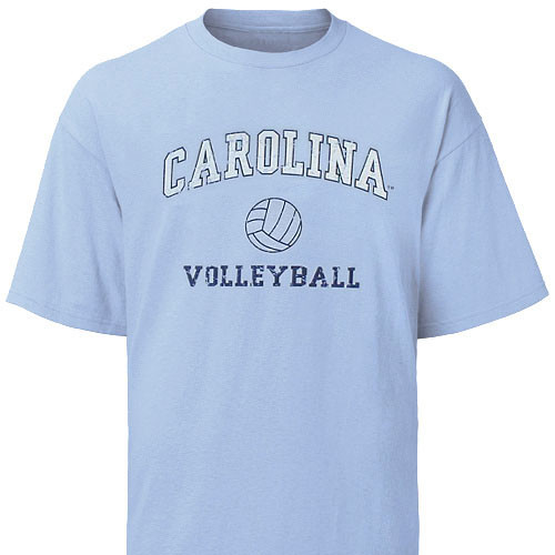 Carolina Faded Sport T-Shirt - Volleyball