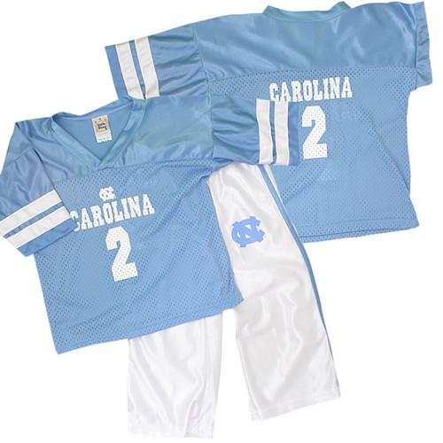 Carolina TODDLER Little King¨ Football Jersey and Pant Set - #2