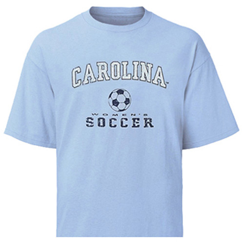 YOUTH Carolina Faded Sport Tee Shirt - Women's Soccer