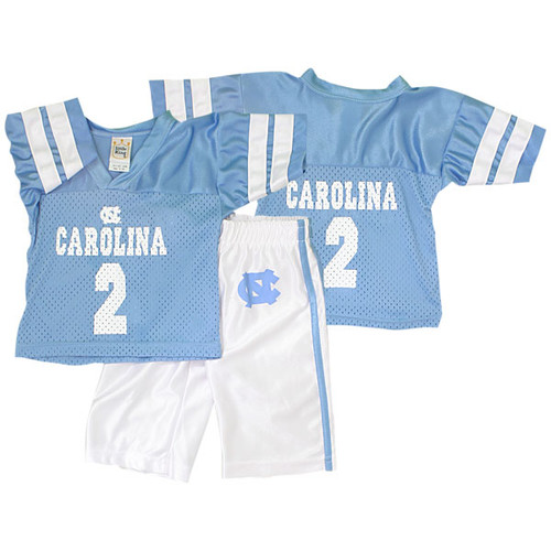 Carolina INFANT Little King UNC Football Jersey and Pant Set - #2